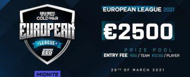 EEG COD European League Season 2 Announced