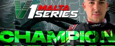 Jake Sammut Crowned Champion of V1 Malta Series