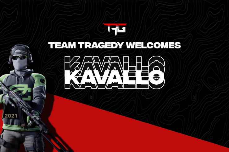 Team Tragedy sign on Kavallo as final Warzone player