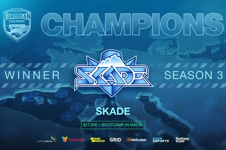 SKADE Crowned Champions of EDC Season 3