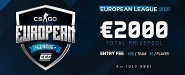 EEG Announce COD & CSGO European League Season 3