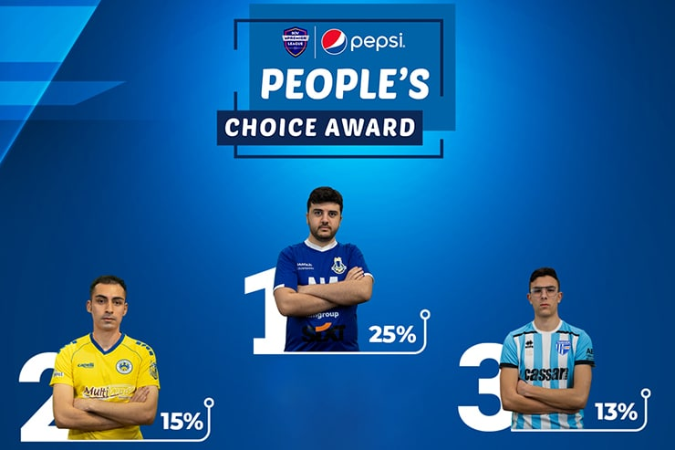 Luke Bartolo wins MEPL Pepsi People's Choice Award
