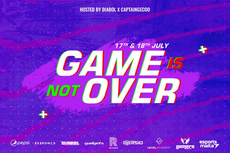 Game Is Not Over Charity Event Announced