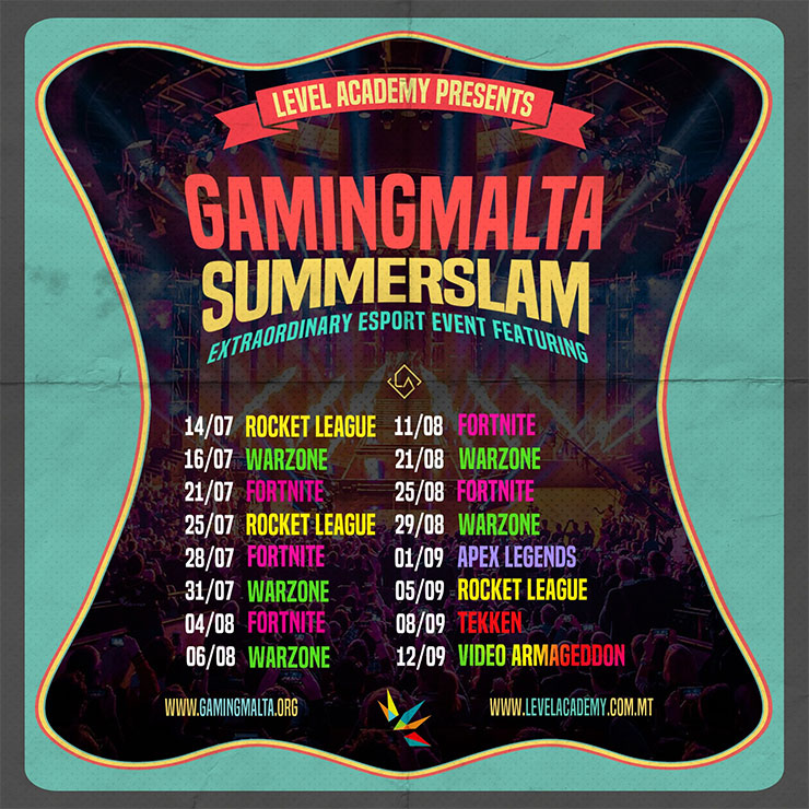 GamingMalta SummerSlam; All You Need To Know