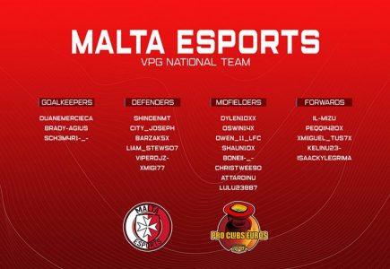 VPG Euros Malta Squad Revealed