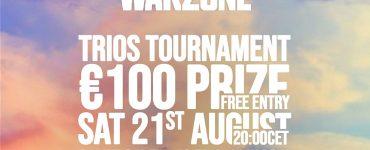 The GamingMalta SummerSlam Warzone Trios Hosted By SandMax24