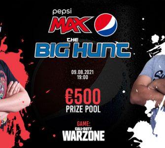 The Pepsi Max Big Hunt Warzone Tournament